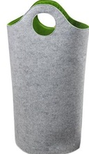 Felt oxford Laundry Hamper folding laundry basket