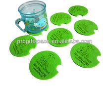 Glass Placemats Coasters - Custom Pot Coaster Pads