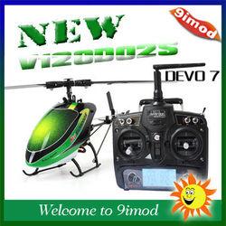New! Walkera V120D02S 2.4G 6CH Remote Control RC Helicopter with Walkera DEVO 7 RTF