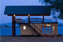 beach prefab container house