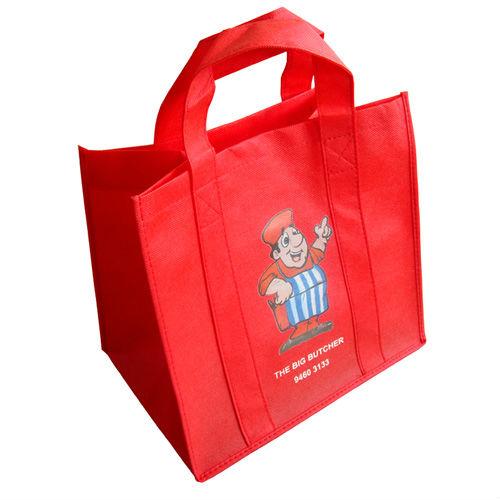 Non Woven Shopping Bag Red
