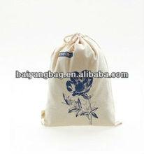 2013 hot-selling cotton bag & sling bag for storage drawstring bag