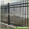 Powder coated residential steel fence