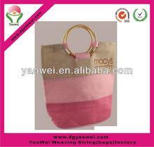 2012 strong purple cotton bag