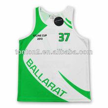 2013 hot selling custom sublimation european basketball uniforms