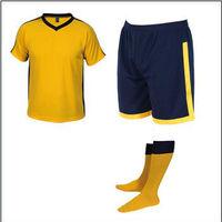 Short sleeve soccer kits, professional soccer training suit