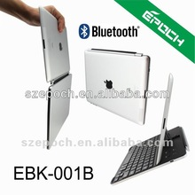 New Ultra Slim Wireless Aluminum Bluetooth Keyboard For iPad2 New iPad