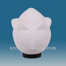 opal uvioresistant pmma flower E27/B22/E40 outdoor garden acrylic light globe