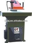 Three keys swing arm cutting press/beam press machine/shoe machine