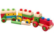 2013 Top wooden block train toy
