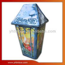 Halloween tin box decoration