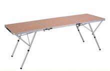 Long size MDF folding picnic table