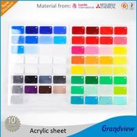 Color Plastic PMMA Cast Acrylic Sheet