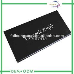 black cardboard knife box packaging