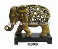 arte 2013 hueco decoración estatua de elefante