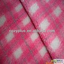 2013 china new designer Cheapest polyester sherpa direct printing mercerized velvet