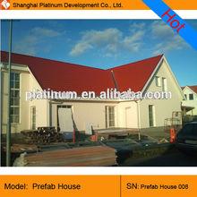 Prefabricated light gauge steel framing villa