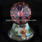 led spinning plasma magic ball