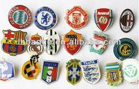 soccer club metal lapel pins,basketball/football club pin badge