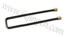 1045 steel bake paint toyota spare parts leaf spring U bolt