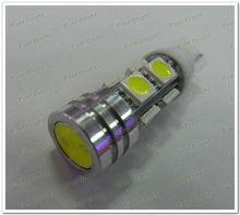 T10 194 168 socket 5050 8 SMD + 1W LED Lights, Led Signal Bulbs Led License Plate Lamps