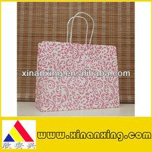flowery decorative paper bag series
