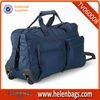 Wheeled Trolley Travel Bag with Front Pockets