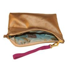 Satin printed Make up Brush bag with handle 2013