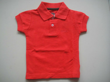 2 years old polo t shirt for girl / 100% cotton polo t shirt on sale / export kids polo t shirt