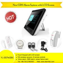 Wireless Smart GSM Smoke Alarm System with Voice