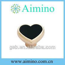 black modern cabinet pull handle black resin knob gold color knob