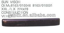 Sun visor 223cm*27cm for MAN XXL/LX heavy duty truck spare parts