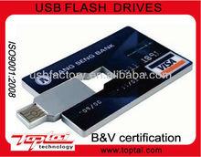 2013 top sale best gift promotional card usb flash drive OEM/2/4/8/16/32GB logo free