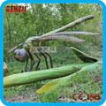 De los niños plagyround grande de tamaño natural animatronic libélula modelo