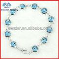 2013 de moda encantos mal de ojo azul pulsera