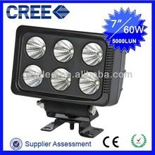 12V CREE LED Work Light 60W UTV Off-road