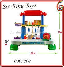 Happy plastic toys kitchen set