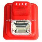 mini strobe siren Alarm Volume over 100dB 110 to 220V AC Input