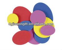 Mix Color Craft EVA foam Round/Oval shapes For School Craft Project