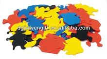 Assorted Color Custom Craft EVA foam Animal Stickers
