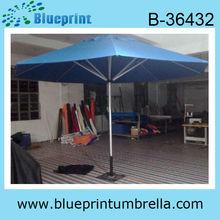 3M Blue Garden Umbrella Aluminum