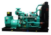 60Hz 500kW 625kVA Diesel Generator Engine Marathon Alternator