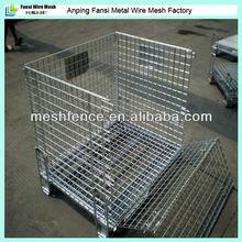 Folding steel stackable storage cage(manufacturer)