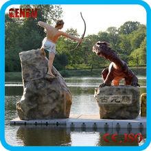 The Apollo and the dragon