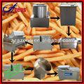Ekonomik büyük kapasiteli elektrikli ısıtma patates cipsi üreticisi fabrika/kızarmış patates kızartması yapma makinaları