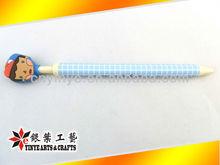 cute pvc ball pen for kids