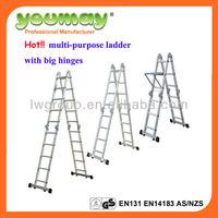 TUV/GS EN131 Aluminum Multipurpose Ladder/aluminium scaffolding/scaffolding for sale/aldi,AM02 series