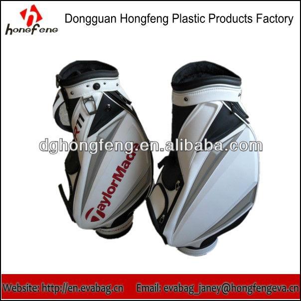 Custom Leather Golf Cart Bag