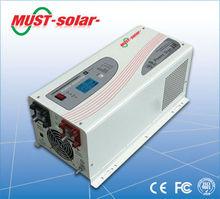 <MUST Solar>dc24v 1kw solar system for home dc12v inverter