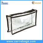 transparent pvc clutch bag nail polish cosmetic bag